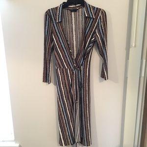 BCBG Wrap Dress BCBGMaxAzria